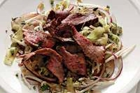 Easy and Delicious Spicy Steak Salad with Mint Recipe by Makeeze Recipes