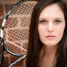 Intense by Kristi Weaver - Sports & Fitness Tennis