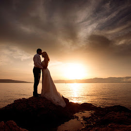 sunset by Ante Gašpar - Wedding Ceremony ( wedding photography )
