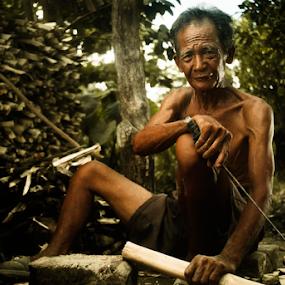 by Siriel Maulit - People Portraits of Men