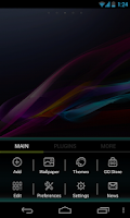 Screenshot of Xperia Go Launcher EX Theme