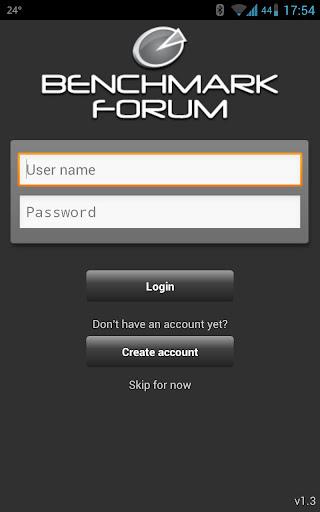 Benchmark Forum