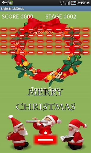 ライト・ブロック崩し クリスマス版