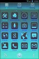 Screenshot of ClearBleu Thème Go Launcher Ex