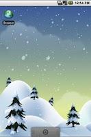 Screenshot of Winter Snow Live Wallpaper