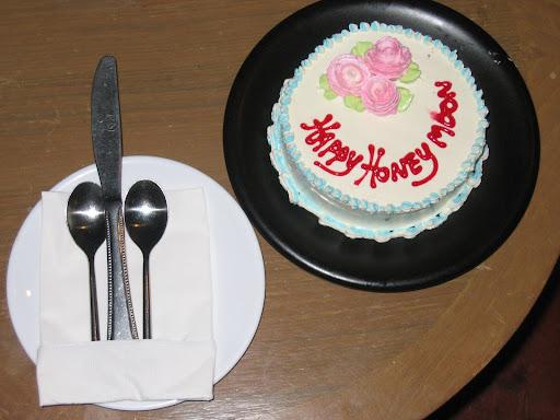 Happy Honeymoon Cake