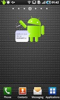 Screenshot of Robot janaiyo Android dayo!