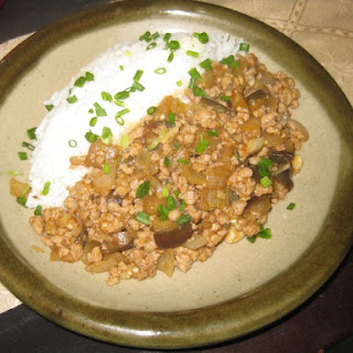 Judy's Spicy Eggplant with Ground Pork
