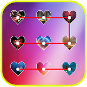 Love Pattern Lock Screen APK for Bluestacks