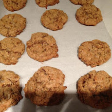 Coconut Toffee Oatmeal Cookies