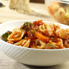 Tortellini-Vegetable Toss