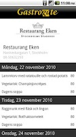 Screenshot of Gastrogate restaurangguide
