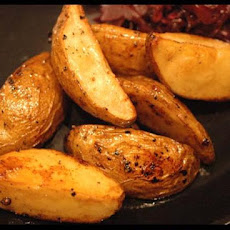 Oven Roasted Balsamic Potato Wedges