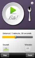 Screenshot of Eat Slower