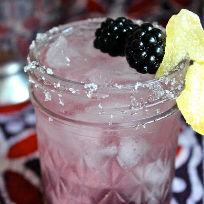 Ginger Blackberry Smash