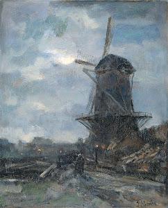 RIJKS: Jacob Maris: painting 1899