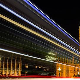 Big Ben by Jason Aspland - City,  Street & Park  Street Scenes ( canon, amazing, love, london, photographer, stunning, longexposure, photography, bigben )