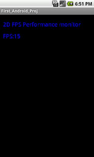 2D FPS viewer