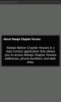 Screenshot of Navajo Chapter Houses: Tablets