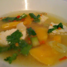 Fragrant Chicken and Squash Soup
