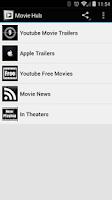 Screenshot of Movie Hub