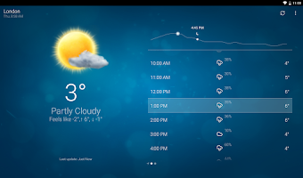 Screenshot of Weather