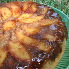 Light Peach Upside-Down Cake
