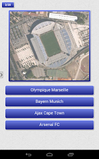 Soccer - Stadium Quiz - screenshot
