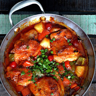 Sweet and Sour Chicken Thighs