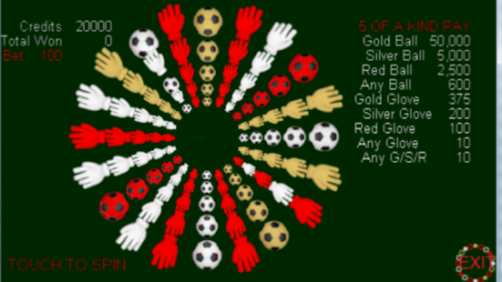 A Futbol Wheel - screenshot