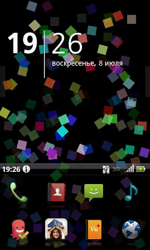 Simple Squares Live Wallpaper