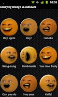 Screenshot of Annoying Orange Soundboard