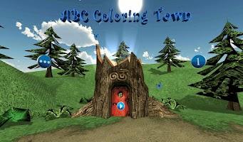 Screenshot of ABC Coloring Town Free