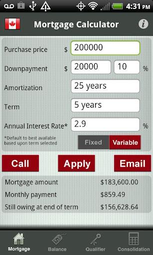 AM Canadian Mortgage Advisor