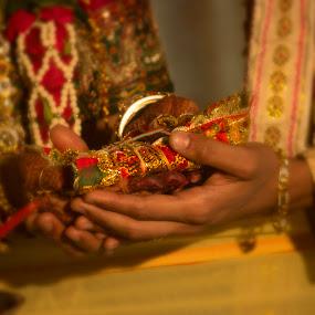 wedding by Nirav Raval - Wedding Ceremony ( weds, wedding, marriage ceremony, ceremony, marriage, bride, groom, wedding ceremony )