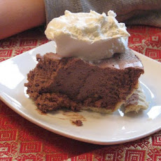 Mile-High Chocolate Cream Cheese Pie