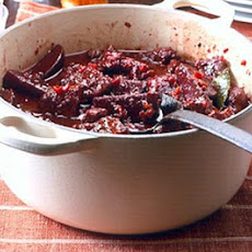 Daube Of Beef With Spiced Beetroot