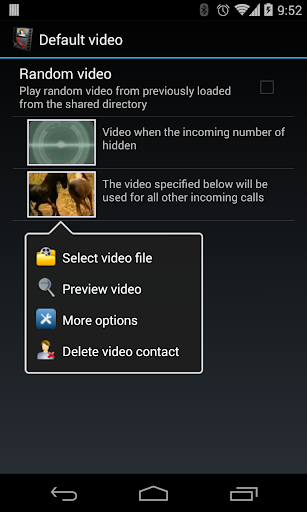 Video Caller Id (Pro) - screenshot