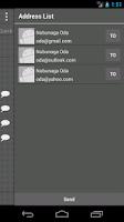 Screenshot of Phone Book ConTacTs (Black)