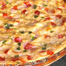 Low Fat Quiche With Rice Crust