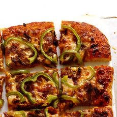 Sweet Onion Pork Pizza