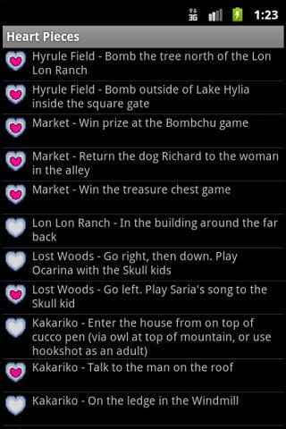 Zelda Heart Piece Tracker
