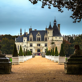 Follow the road by Michael Strier - Buildings & Architecture Public & Historical ( chenonceau, loire valley, castle, france, chateau )