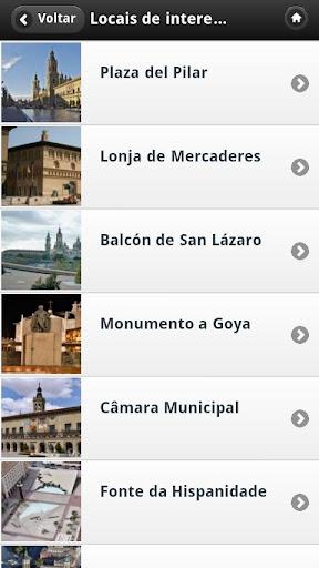 Zaragoza Audioguia Espanha