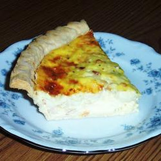 Spicy Edam Shrimp Quiche