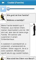 Screenshot of Német szóbeli alapfok