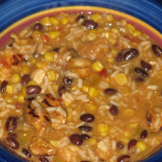 Fiesta Chicken Chowder