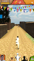 Screenshot of Desi Run 3D