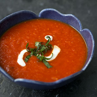 Roasted Tomato Soup with Chipotle