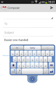 Screenshot of SwiftKey Tablet (Legacy)